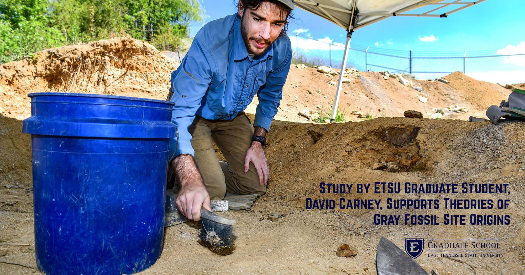 ETSU News: Study by ETSU grad supports theories of Gray Fossil Site origins