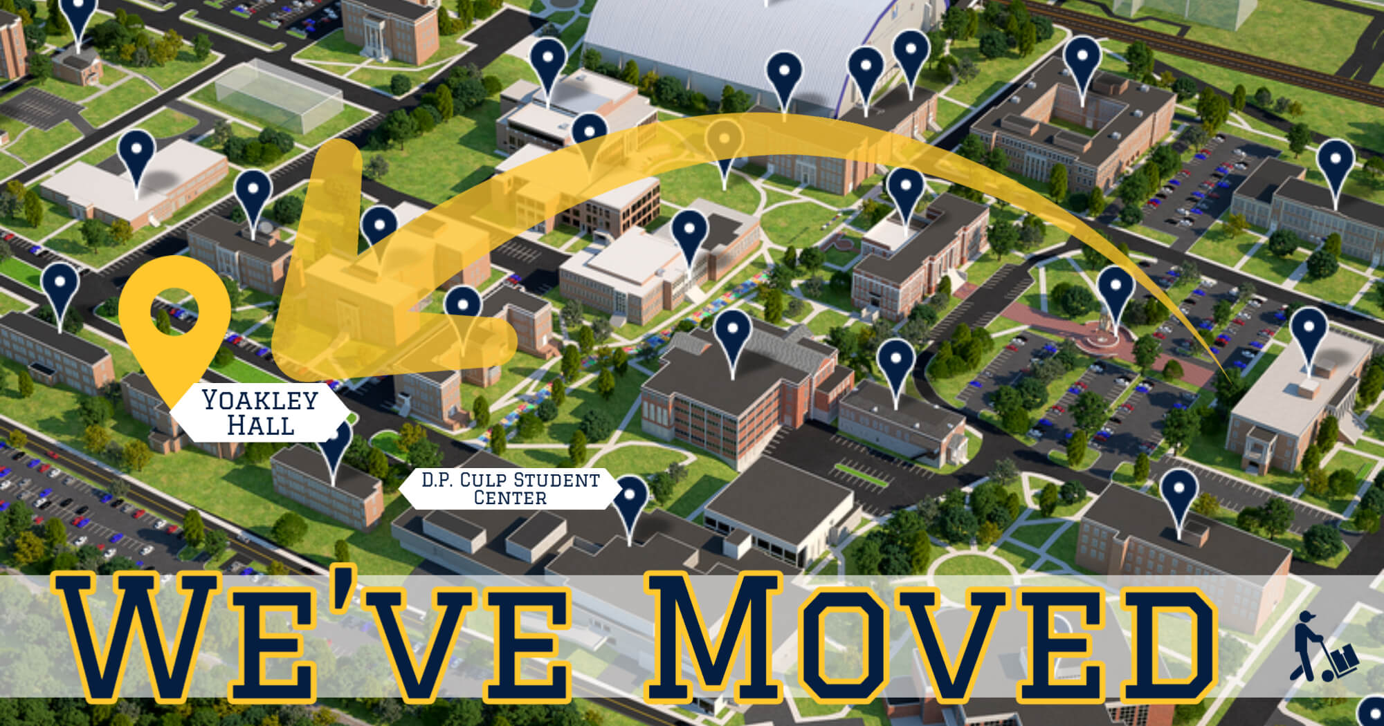 The Graduate School at ETSU has moved to Yoakley Hall