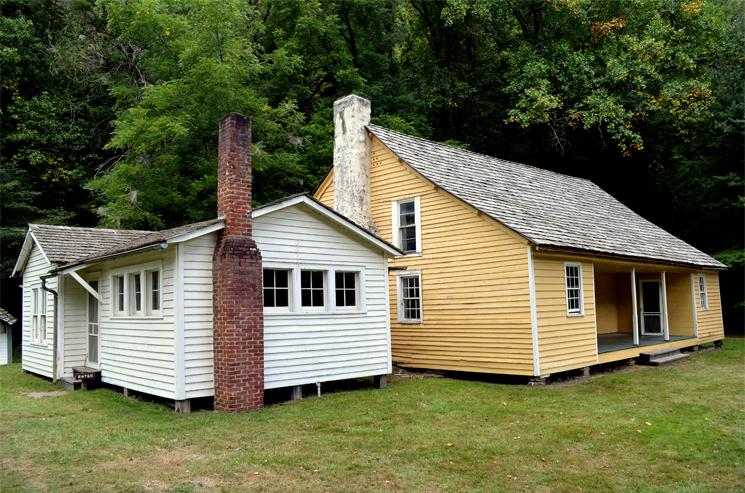 Palmer House, circa 1860, Cataloochee Valley, Great Smoky Mountain National Park