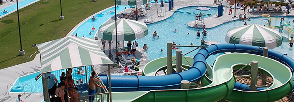 Kingsport's indoor/outdoor aquatic center is fun for the whole family!