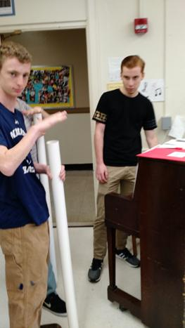 Physics and Music 2016-2017