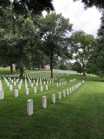 National Cemetery at Mountain Home, TN