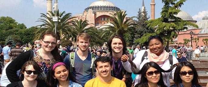 ETSU students study abroad in Turkey
