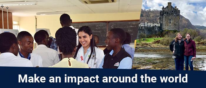 Make an impact around the world