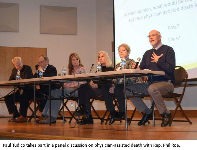 photo from panel on physician-assisted death