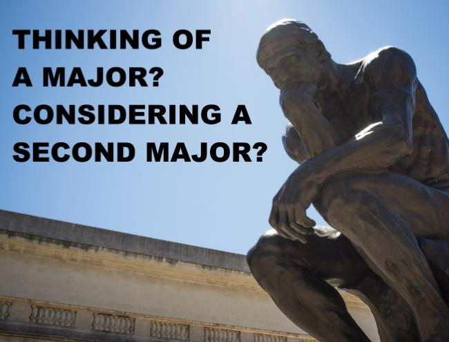 Thinking of a major?