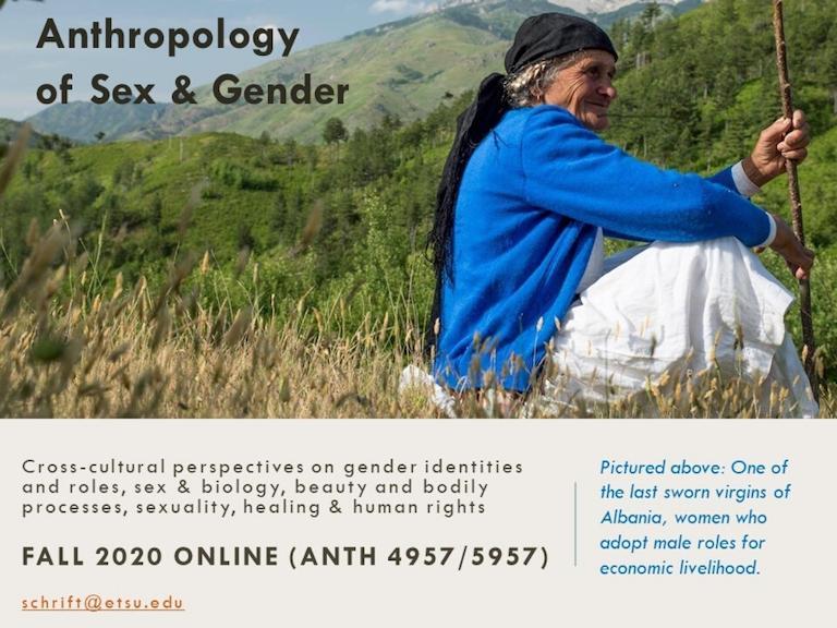 Anthropology of Sex & Gender