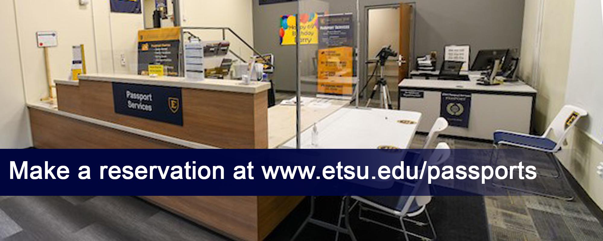 Make a reservation at www.etsu.edu/passport