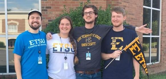 Recent graduate students of the ETSU Geosciences department find employment as Esri support at Esri's Charlotte office.