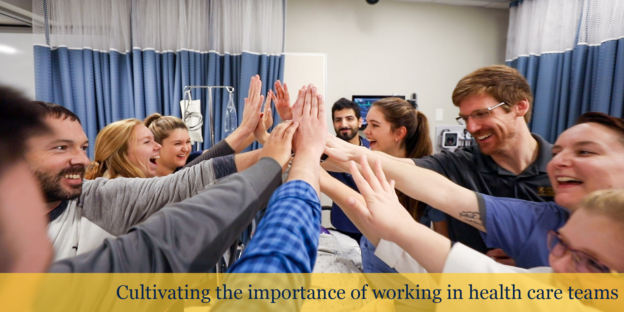 Cultivating the importance of working in health care teams