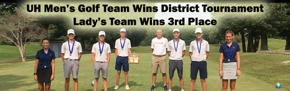 Golf Win District