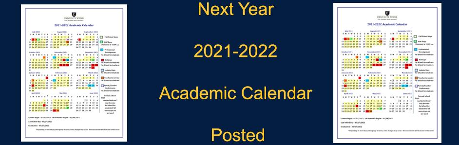 Next Year Calendar