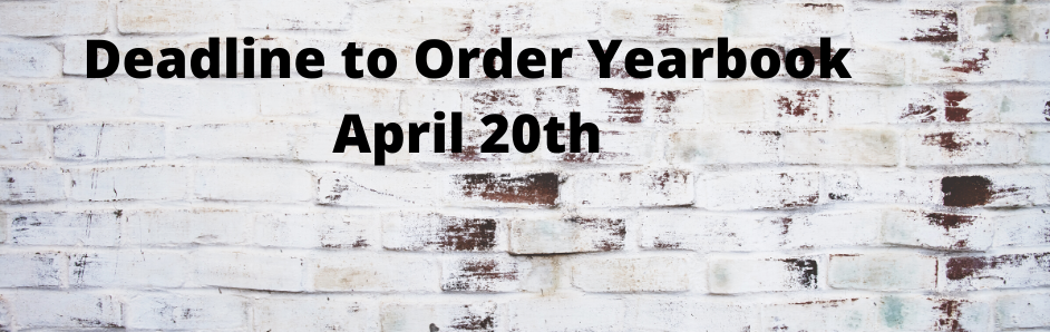 Yearbook Order deadline