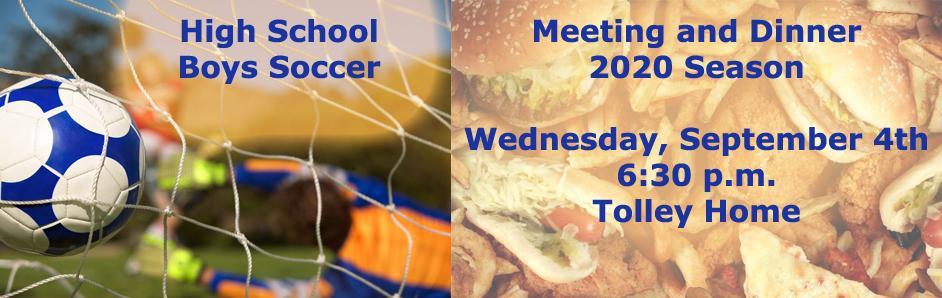 Soccer Dinner