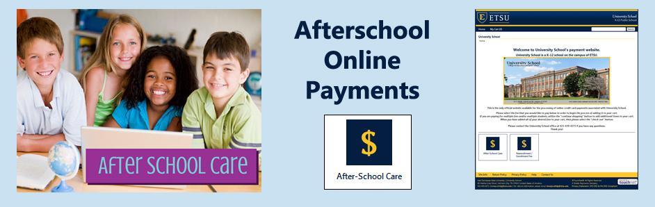Afterschool Online Payments