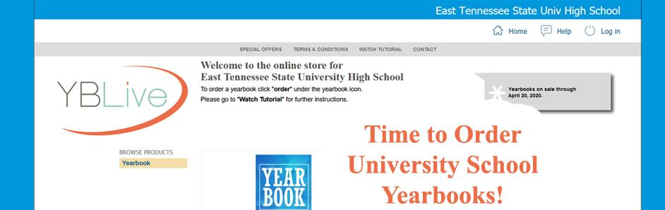 Order Yearbooks