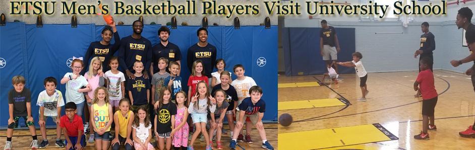 ETSU Mens Basketball Visit