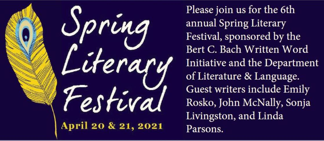 Spring Literary Festival with guest information