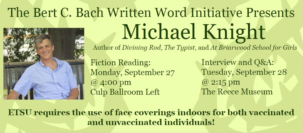 Michael Knight with Event Information