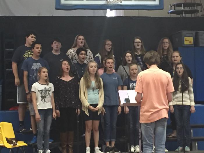 Middle School Chorus Concert 2015-2016