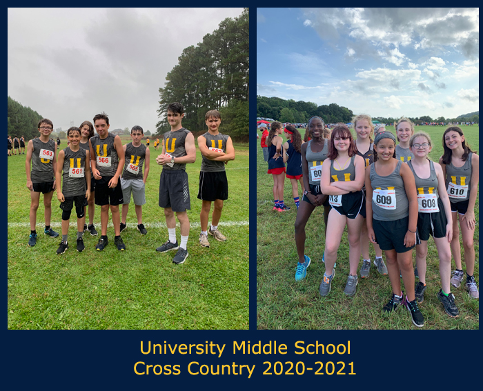 2020-2021 Middle School Cross Country