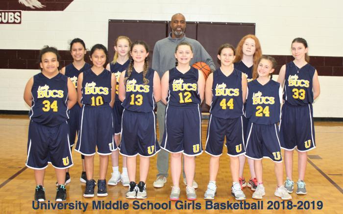 2018-2019 MS Girls Basketball
