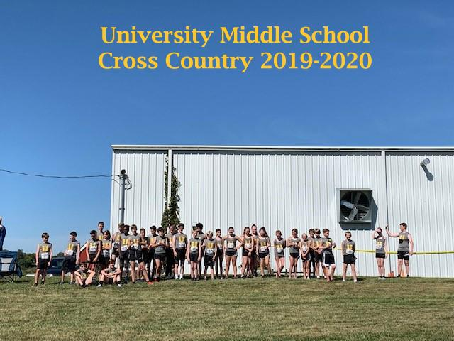 2019-2020 Middle School Cross Country