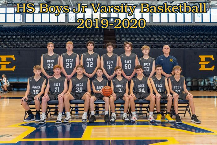 2019-2020 High School JV Boys Basketball