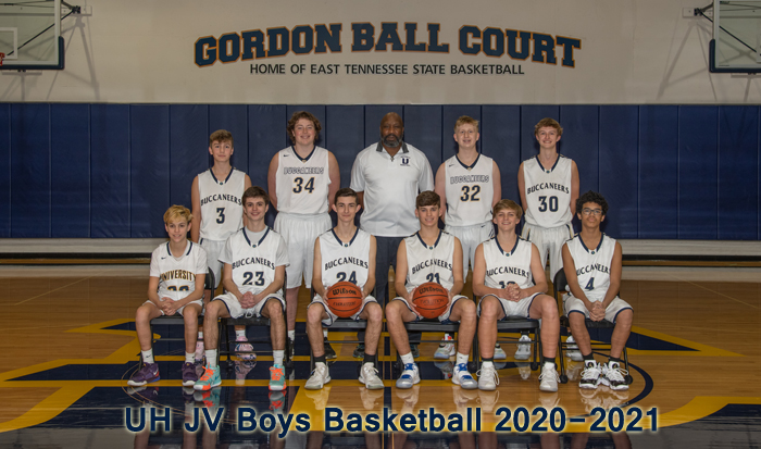 2020-2021 High School Junior Varsity Boys Basketball