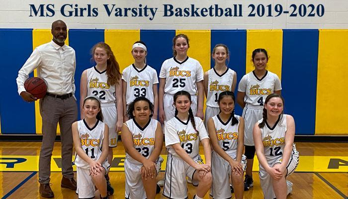 2019-2020 Middle School Girls Varsity Basketball