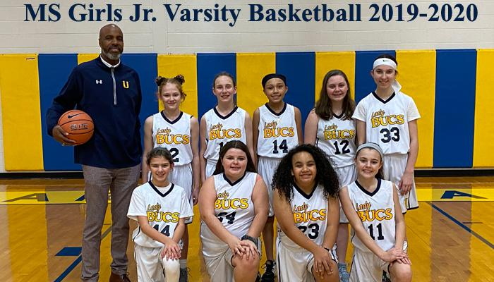 2019-2020 Middle School Girls Junior Varsity Basketball