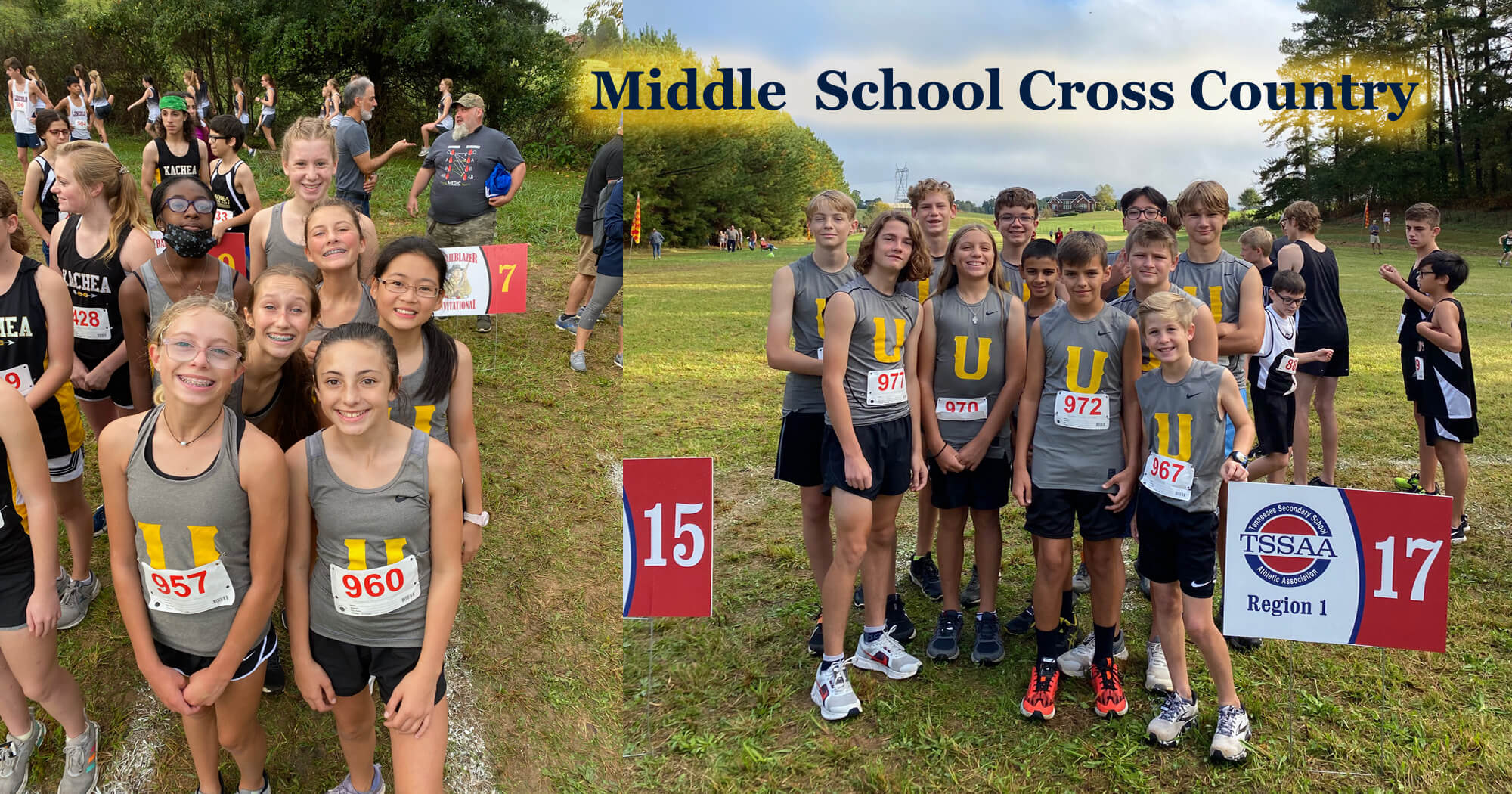 2021-2022 Middle School Cross Country