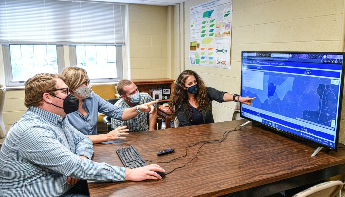 Collaboration of ETSU colleges results in new COVID research, creation of new lab