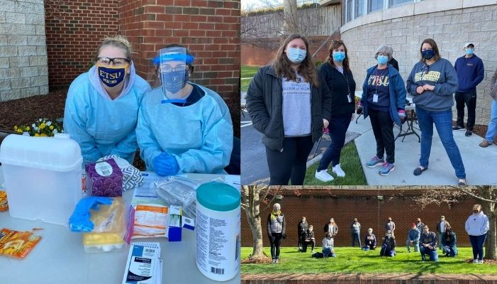 Quillen's Street Medicine Interest Group Works to Vaccinate the Homeless