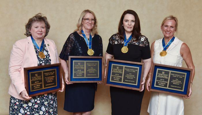 Quillen honors four outstanding alumni