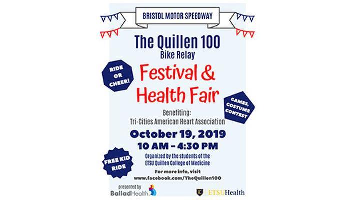 Quillen students hosting bike race, community health event at Bristol Motor Speedway