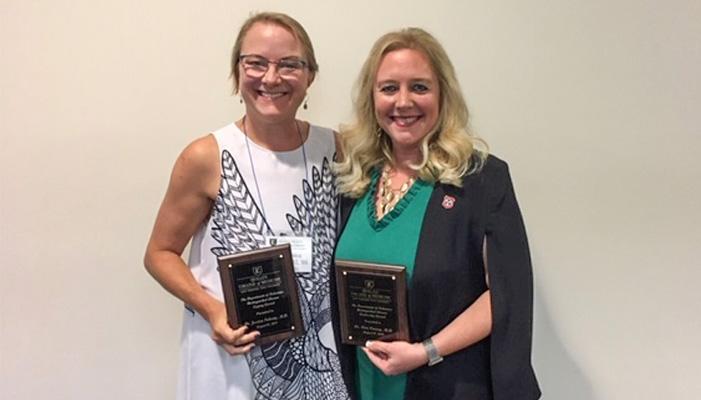 Quillen College of Medicine's Department of Pediatrics honors alumni