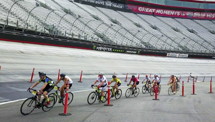 Cycling event at Bristol Motor Speedway promotes healthier lifestyles at all skill levels