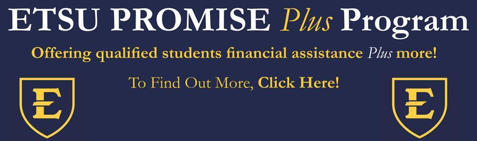 ETSU Promise Plus Program
