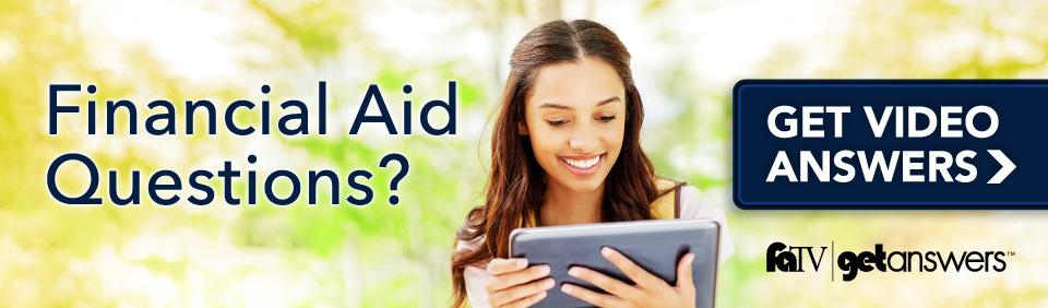 Do you have Financial Aid Questions?