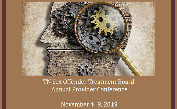 2019 Tennessee Sex Offender Treatment Board Annual Provider Conference