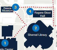 Sherrod Library Area