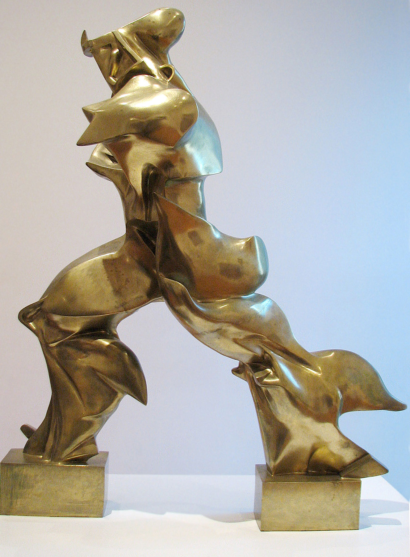 Continuity in Space by Umberto Boccioni