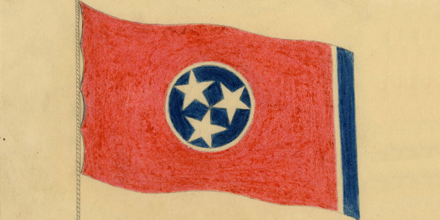 image for Simplicity and Sentiment: Le Roy Reeves & the Tennessee Flag