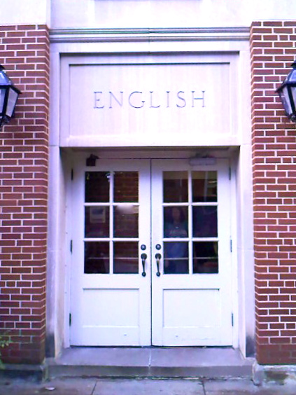 Doors to the English building