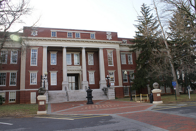 Gilbreath Hall, home of the Mathematics and Statistics Department
