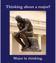 major in thinking