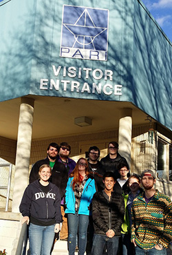 Students at the PAH