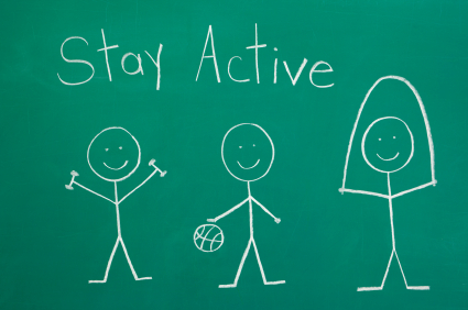 Stay Active PE Image