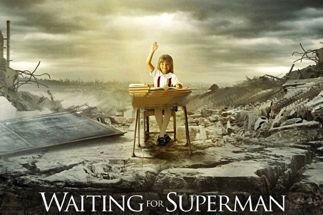 Video cover waiting for superman